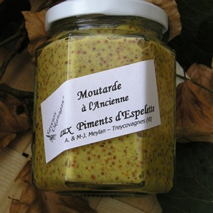 Moutarde  aux Piments d'Espelette